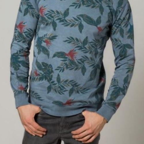 sweater tropical print